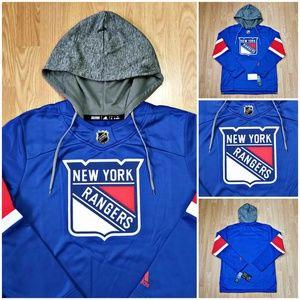 New York Rangers NHL Adidas Platinum Jersey Hoodie